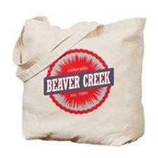 Beaver Creek Ski Resort Colorado Red Tote Bag
