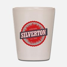 Silverton Ski Resort Colorado Red Shot Glass