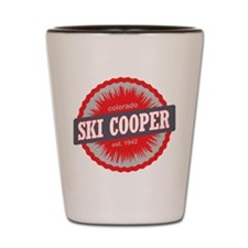 Ski Cooper Ski Resort Colorado Red Shot Glass