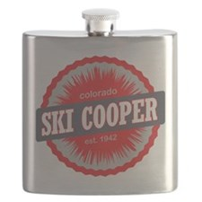 Ski Cooper Ski Resort Colorado Red Flask