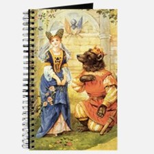 Vintage Beauty and the Beast Journal