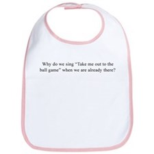 Baseball Quote Bib