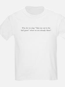 Baseball Quote Kids T-Shirt