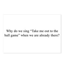 Baseball Quote Postcards (Package of 8)
