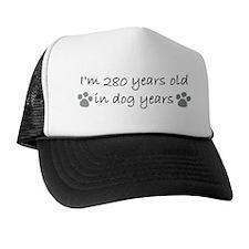 40 dog years 2-2.JPG Trucker Hat