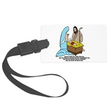 Baby Jesus Luggage Tag