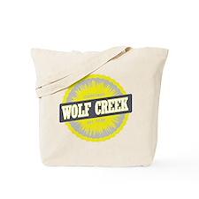 Wolf Creek Ski Resort Colorado Yellow Tote Bag