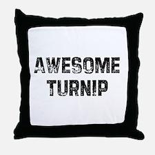 Awesome Turnip Throw Pillow