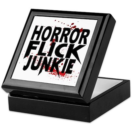 Horror Flick Junkie Keepsake Box
