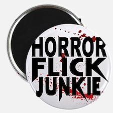 Horror Flick Junkie Magnet