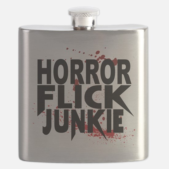 Horror Flick Junkie Flask