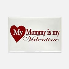 Mommy Valentine Rectangle Magnet