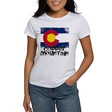 Copper Mountain Grunge Flag Tee