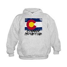 Copper Mountain Grunge Flag Hoodie