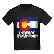 Copper Mountain Grunge Flag T
