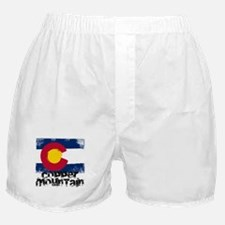 Copper Mountain Grunge Flag Boxer Shorts