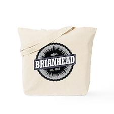 Brian Head Ski Resort Utah Black Tote Bag