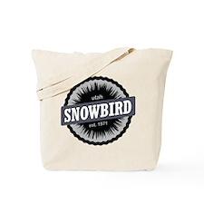Snowbird Ski Resort Utah Black Tote Bag