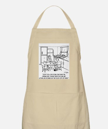 Doing Dishes the Organic Way Apron