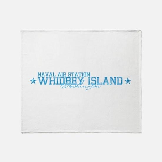 NAS Whidbey Island WA Throw Blanket