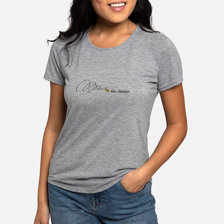 Cute Save bees Womens Tri-blend T-Shirt