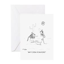 Want to Break the Wishbone? Greeting Card