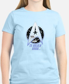 To Boldly Snow T-Shirt