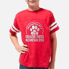 Cute Greater swiss mountain dog Youth Football Shirt