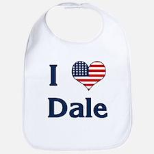 I Love Dale Bib