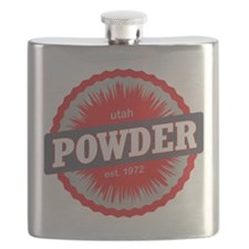 Powder Mountain Ski Resort Utah Red Flask