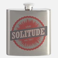 Solitude Ski Resort Utah Red Flask