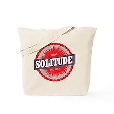 Solitude Ski Resort Utah Red Tote Bag