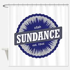 Sundance Ski Resort Utah Blue Shower Curtain