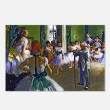 Degas - The Ballet Class Postcards (Package of 8)