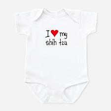 I LOVE MY Shih Tzu Infant Bodysuit