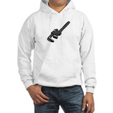 Gray wrench Hoodie