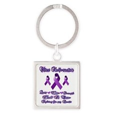 Fighting chiari for my bestie Square Keychain