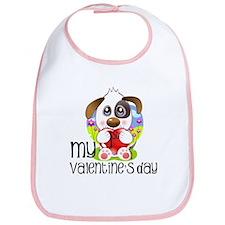 1st Valentine's Day Bib