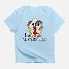1st Valentine's Day Infant T-Shirt