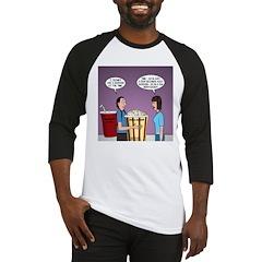 Movie Pop and Popcorn Baseball Jersey