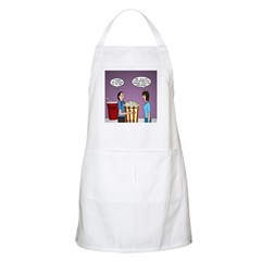Movie Pop and Popcorn Apron