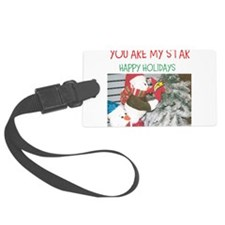 YOU ARE MY STAR. HAPPY HOLIDAYS. Luggage Tag