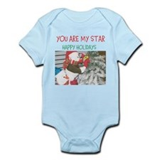 YOU ARE MY STAR. HAPPY HOLIDAYS. Body Suit