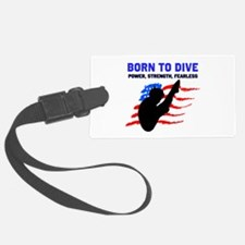 TOP DIVER Luggage Tag