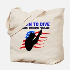 TOP DIVER Tote Bag