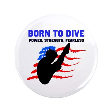 """TOP DIVER 3.5"""" Button (100 pack)"""