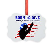 TOP DIVER Ornament