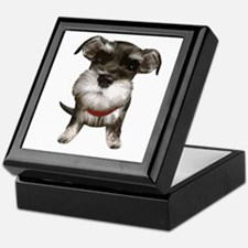 Mini Schnauzer001 Keepsake Box