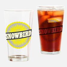 Snowbird Ski Resort Utah Yellow Drinking Glass