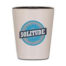 Solitude Ski Resort Utah Sky Blue Shot Glass